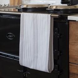Pair of tea towels, H0.02 x D100 x W36cm, grey