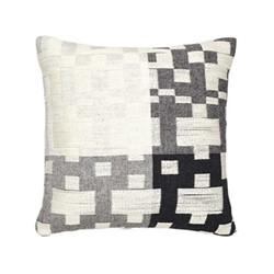 Pennan Cushion, L48 x H48cm, black/white