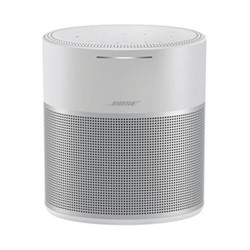 Home speaker 300 with amazon alexa & google assistant, H23.9 x W16.8 x D12.9cm, silver