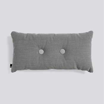 Steelcut Trio 2 Dot Cushion, H70 x L36cm, dark grey