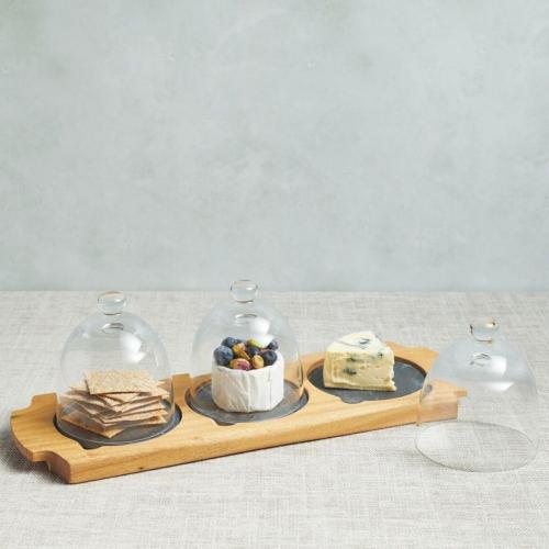 Appetiser serving set, 37 x 12 x 12.5cm