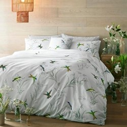 Fortune King size quilt cover, 228 x 218cm, mint