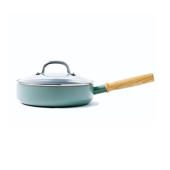 Mayflower Sautepan with lid, 24cm, blue