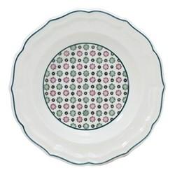 Dominoté - Artifices Rim soup plate, 22.5cm