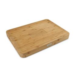 Cut&Carve Multi-function chopping board, 40 x 30 x 3.5cm, Bamboo