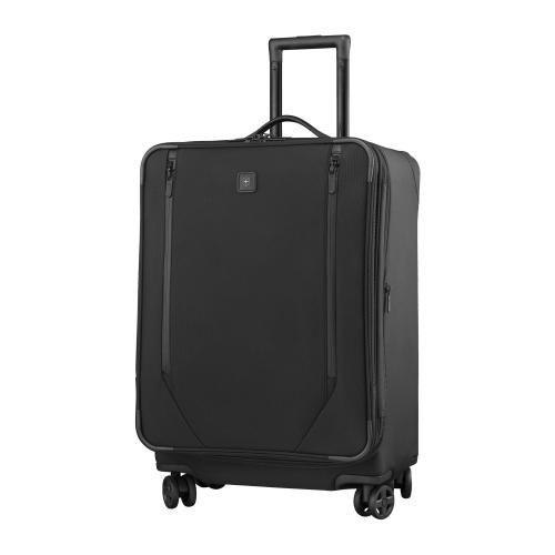 Lexicon 2.0 Medium dual caster suitcase, H67 x W46 x D33cm, black