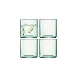 Canopy Set of 4 tumbler, 350ml, clear
