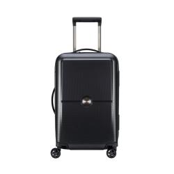 Turenne 4-Double wheel cabin trolley case, 55cm, Black