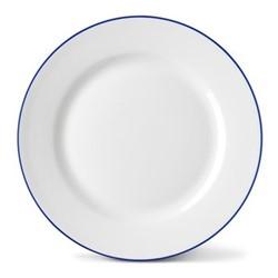 Pea Pod Side plate, 20cm, blue rim