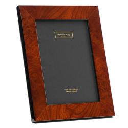 "Walnut Poplar Photograph frame, 5 x 7"", brown"