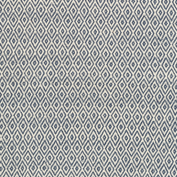 Crystal Recycled polyester P.E.T. indoor/outdoor rug, W61 x L91cm, Navy/Ivory