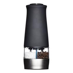 MasterClass Electric salt and pepper mill, 17cm, black