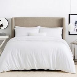 Tencel Single duvet cover, 140 x 200cm, white