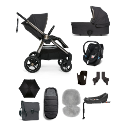 Ocarro 8 piece pushchair complete kit, Onyx Black