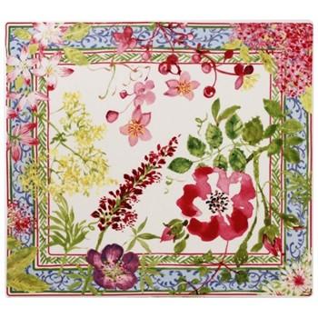 Millefleurs Platter, 29.5 x 26.5cm