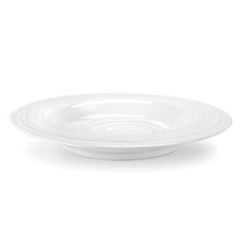Set of 4 rim soup plates 25cm