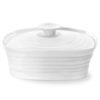 Covered butter dish 15.5 x 12cm