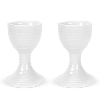 Pair of egg cups 9cm