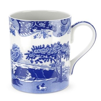 Blue Italian Set of 4 mugs, 50cl