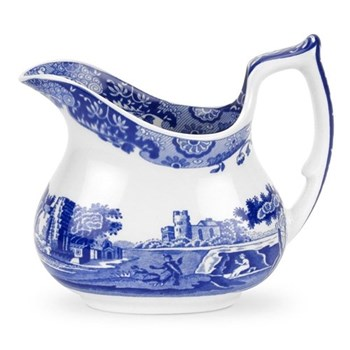 Blue Italian Cream jug, 22cl