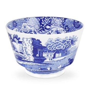 Blue Italian Sugar bowl, 30cl