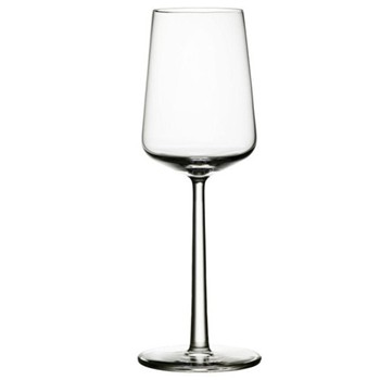 Pair of white wine glasses 33cl