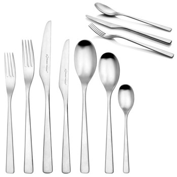 Tilia Table fork, satin finish stainless steel