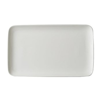 Pure Rectangular dish, 15 x 25cm, white bone china
