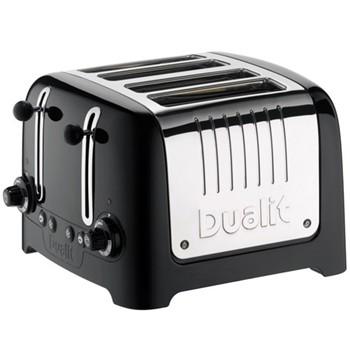 Lite - 46205 Toaster, 4 slot, black