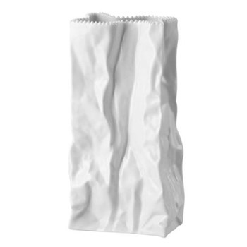 Tapio Wirkkala Vase, 18cm, white porcelain