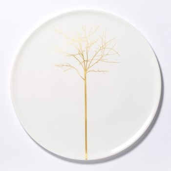 Golden Forest - Classic Cake plate, 32cm, fine bone china