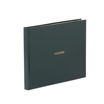 Visitors book with lined pages 22 x 28.5cm