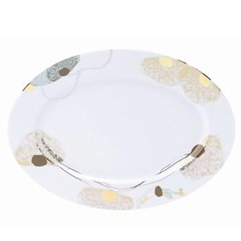 Ravissement Oval platter, 40cm