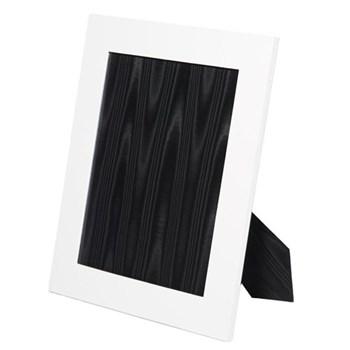 "Oyster Bay Photograph frame, 10 x 8"", white lizard"