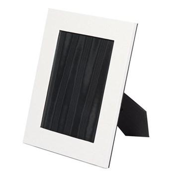 "Oyster Bay Photograph frame, 8 x 6"", white lizard"