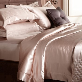 Signature Standard pillowcase, 50 x 75cm, nude