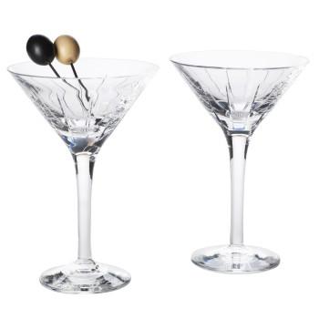 Single martini glass