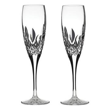 Westminster Pair of Champagne flutes tall