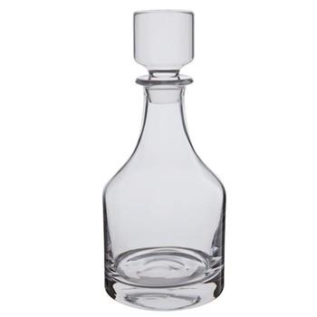 Spirit decanter, H25cm - 75cl, clear
