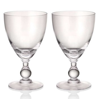 Jewel Set of 6 wine glasses, diamond