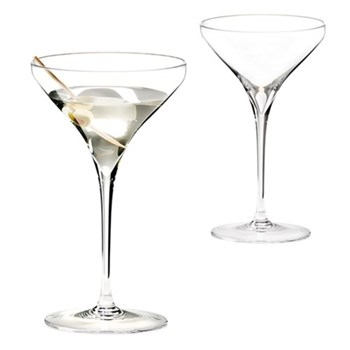 Pair of martini glasses H19.3 x D11.4cm - 24.5cl