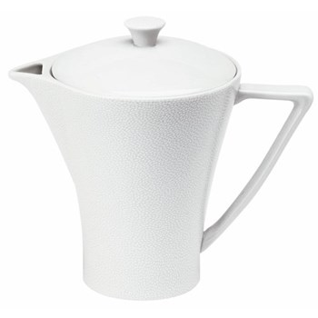 Seychelles Tea/coffee pot, 85cl, white