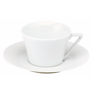 Seychelles Teacup and saucer, 16cl, white