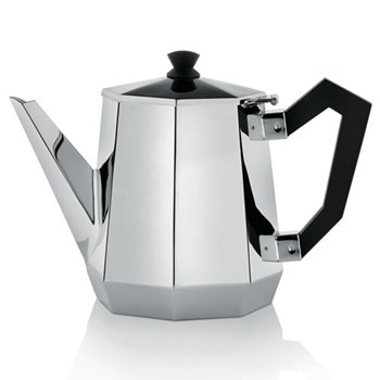 Ottagonale Teapot, stainless steel