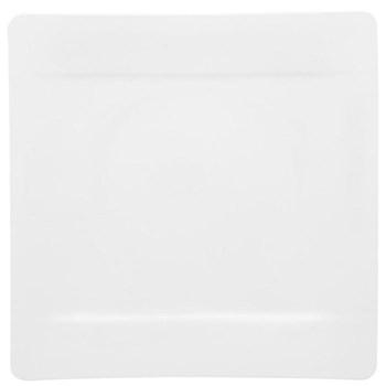 Modern Grace Buffet plate, 35 x 35cm, white