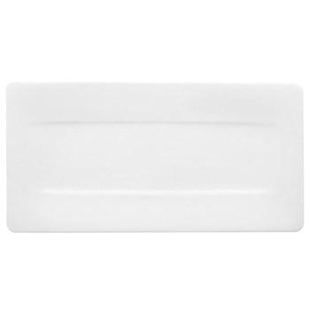 Modern Grace Serving plate, 44 x 23cm, white