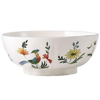 Oiseaux de Paradis Open vegetable dish No.1, 21cm