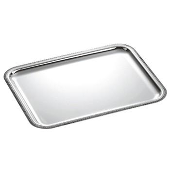 Malmaison Rectangular tray, 35 x 27cm, Christofle silver