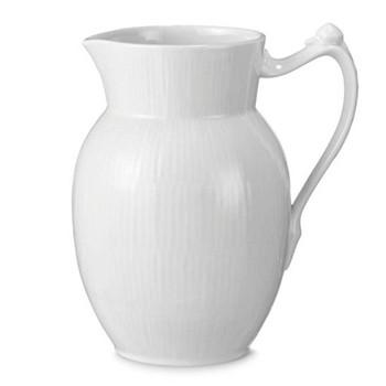 White Fluted Jug, 0.7 litre