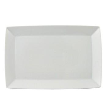 Loft Rectangular platter, 28 x 15cm, white